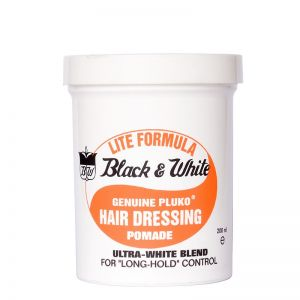 Black & White Lite Hair Dressing Pomade 200ml