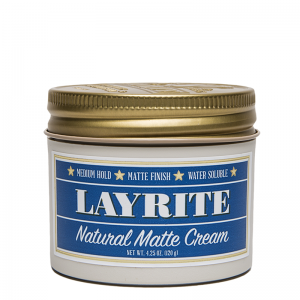 Layrite Natural Matte Cream Pomade 120g