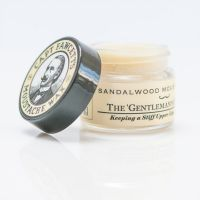 Captain Fawcett's Moustache Wax Sandalwood 15g