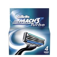 Gillette Mach3 Turbo 4 Klingen