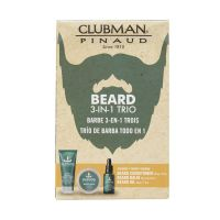 Clubman Pinaud Beard 3-in-1 Trio