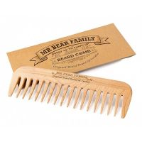 Mr. Bear Family Wooden Comb