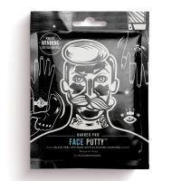 Barber Pro Face Putty - Black Peel-Off Mask (3 x 7g Maske)