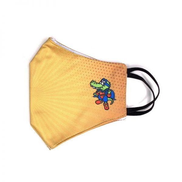 Hey Joe Schutzmaske gelb für Kinder