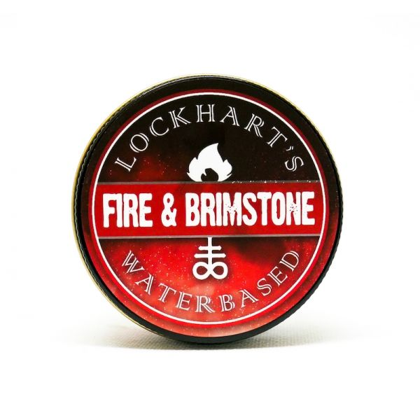 Lockhart's Fire & Brimstone Water Based Pomade 113g