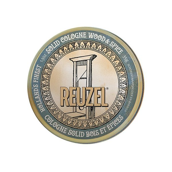 Reuzel Wood & Spice Solid Cologne 35g
