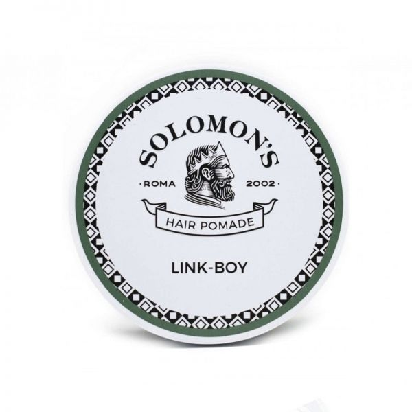 Solomon's Link-Boy medium hold shine Pomade 100ml