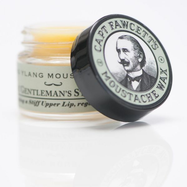 Captain Fawcett's Moustache Wax Ylang-Ylang