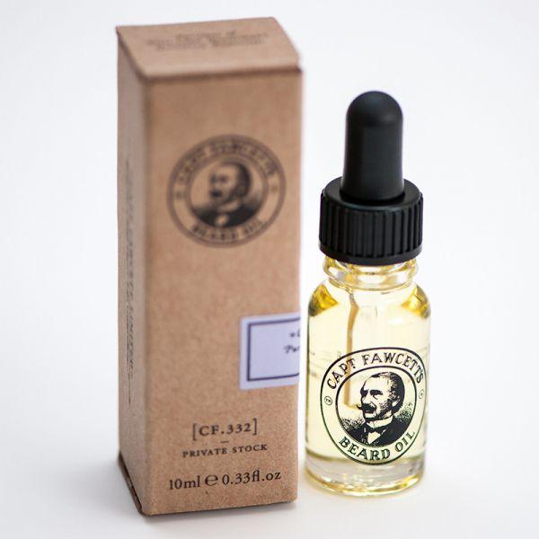 Captain Fawcett's Private Stock Beard Oil
