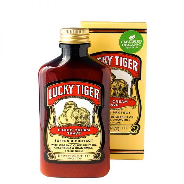 Lucky Tiger Premium Liquid Cream Shave