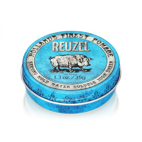 Reuzel Blue Strong Hold High Sheen - Small
