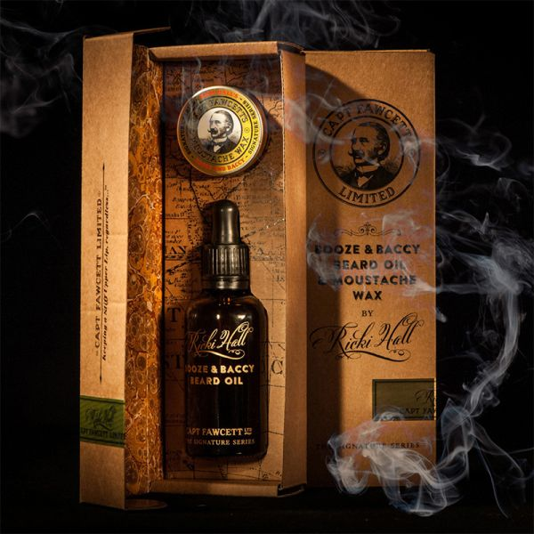 Ricki Hall's Booze & Baccy Oil & Moustache Wax