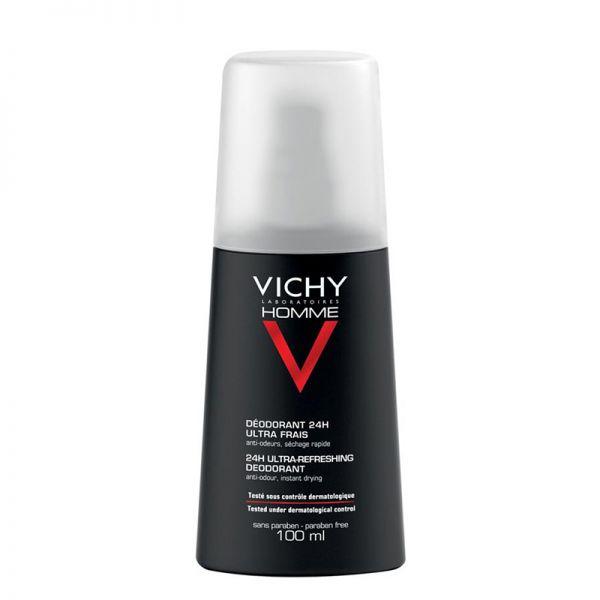 Vichy Homme Déodorant Spray 24h Ultra Frais