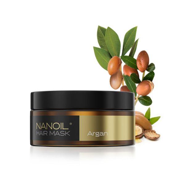 Nanoil Haarmaske mit Arganöl 300ml