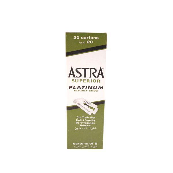 Astra Superior Double Edge Razor Blades - 100Stk.