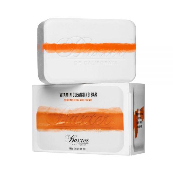 Baxter of California Vitamin Cleansing Bar Citrus & Herbal Musk Körperseife 198g