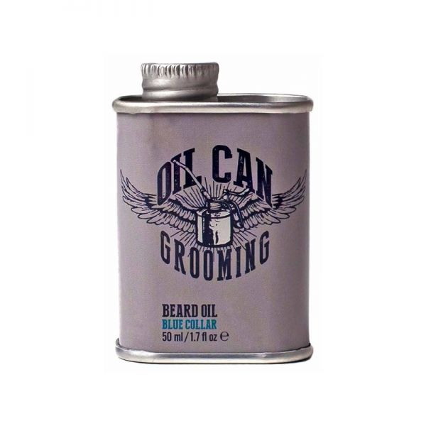Oil Can Grooming Beard Oil Blue Collar 50ml
