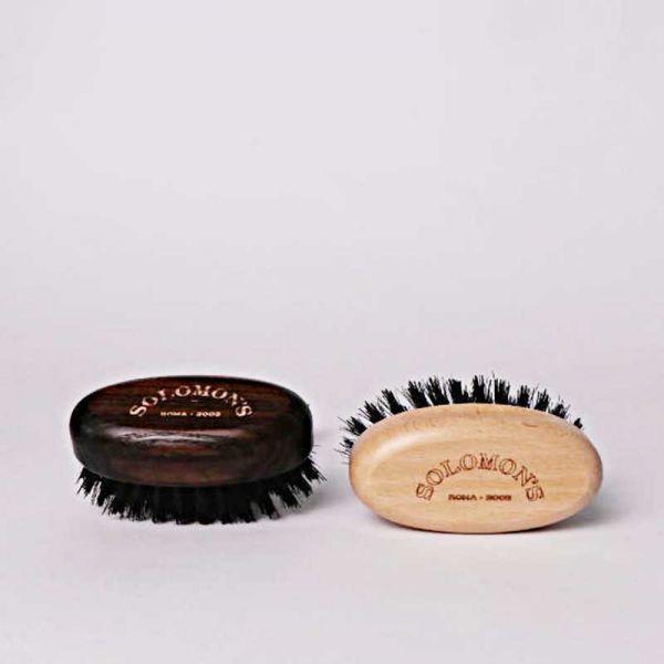 Solomon's Pocket Beard Brush Black