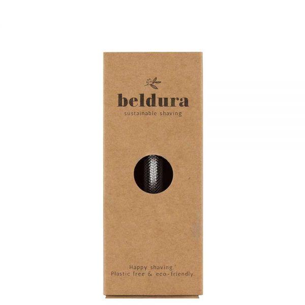 Beldura Rasierhobel Silber für Frauen