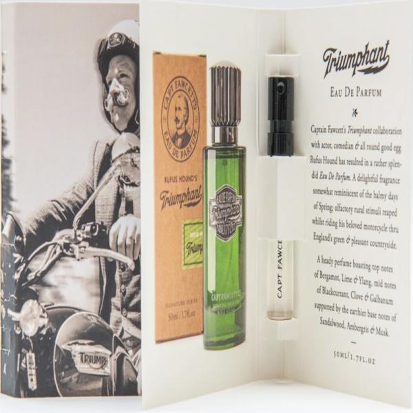 Captain Fawcett's Triumphant Eau de Parfum Tester 2ml
