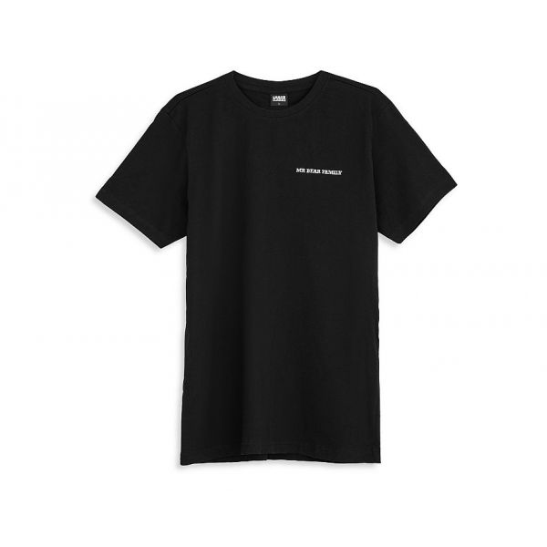 Mr. Bear Family T-Shirt Schwarz