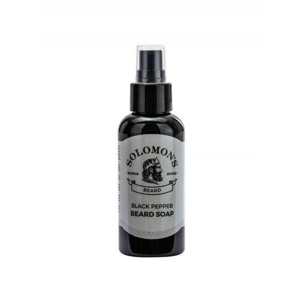 Solomon's Black Pepper Beard Soap 100g