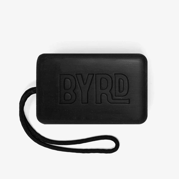Byrd Soap on a Rope Exfoliating Charcoal Körperseife 282ml