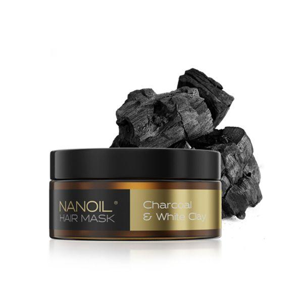 Nanoil Haarmaske mit Aktivkohle 300ml