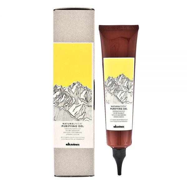 Davines NATURAL TECH Purifying - Antischuppen-Reinigungsgel - 150ml