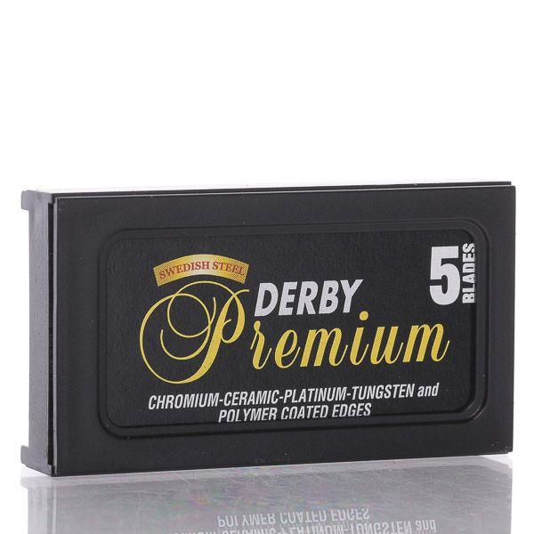 Derby Premium Double Edge Rasierklingen - 5 Stück.