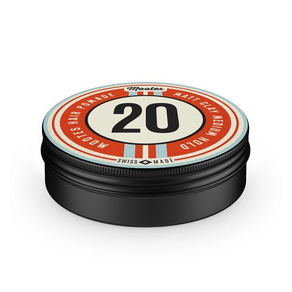 Mootes Haarpomade #20 Matt Clay 40g
