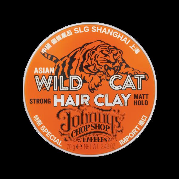 Johnny's Chop Shop Wild Cat Hair Clay 70g