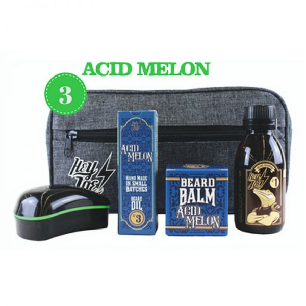 Hey Joe! - Bearded Survival Kit Deluxe N°3 Acid Melon