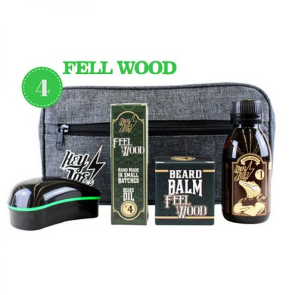 Hey Joe! - Bearded Survival Kit Deluxe N°4 Feel Wood