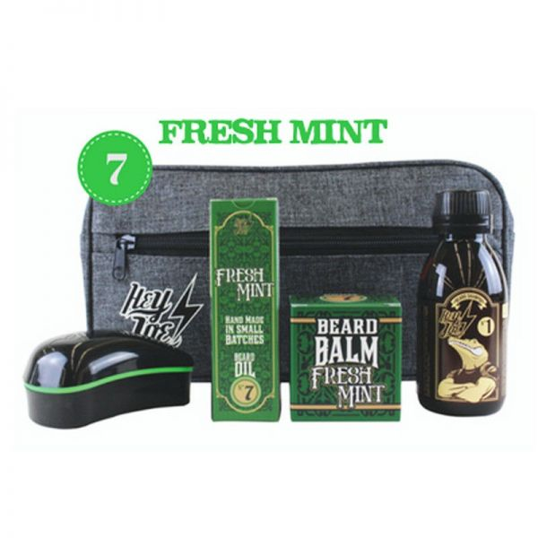 Hey Joe! - Bearded Survival Kit Deluxe N°7 Fresh Mint