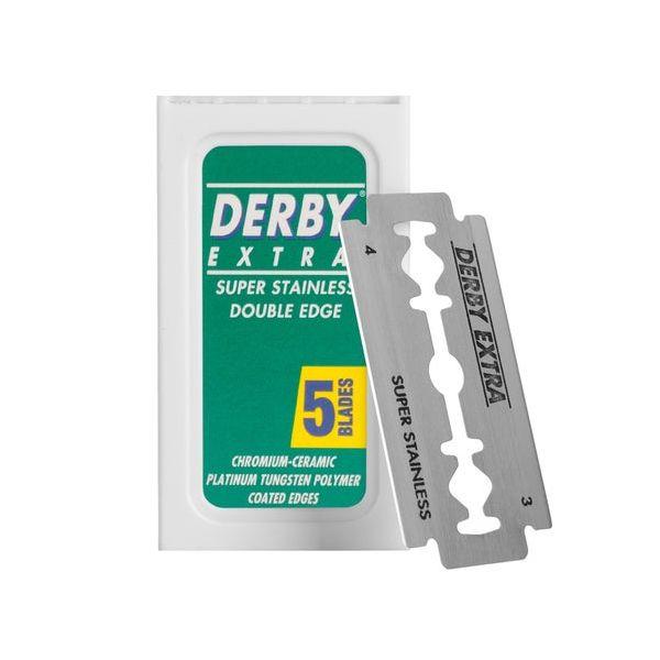 Derby Extra Double Edge Rasierklingen - 5 Stück