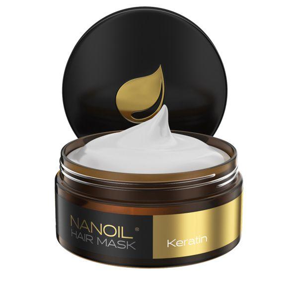 Nanoil Haarmaske mit Keratin 300ml