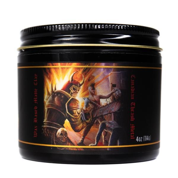 Lockhart's Grease All End All Wax Based Matte Clay 114ml