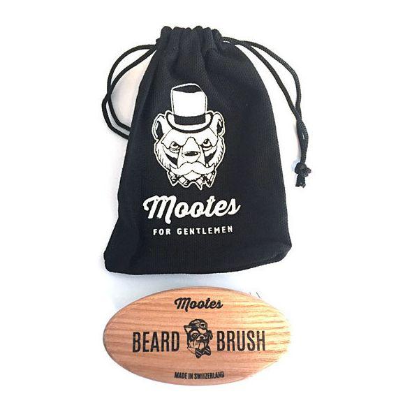 Mootes Bartbürste für Unterwegs - Hart