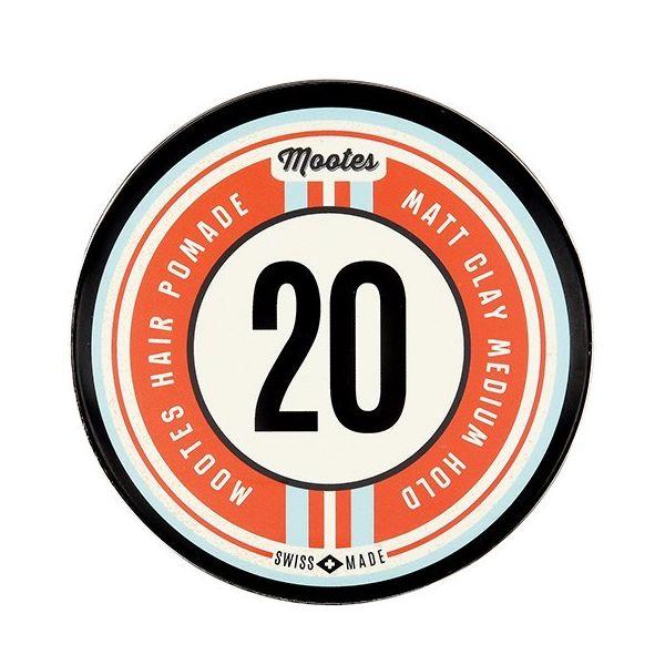 Mootes Haarpomade #20 Matt Clay Medium Hold