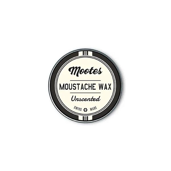 Mootes Unscented Moustache Wax 15g