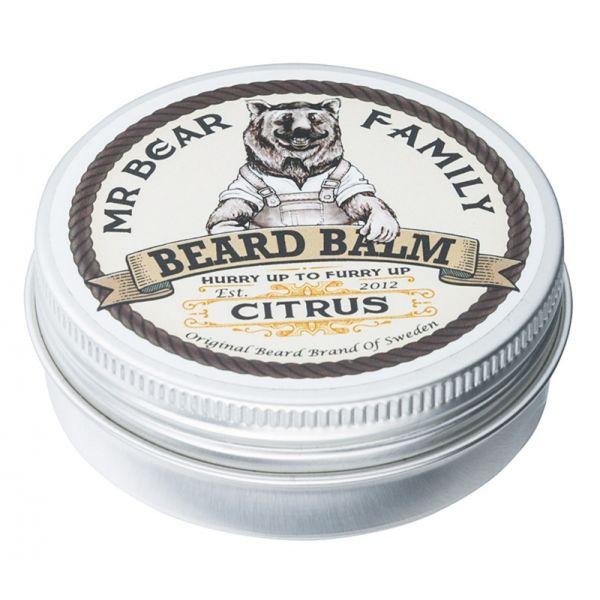 Mr .Bear Family Beard Balm Citrus