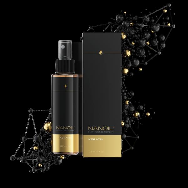 Nanoil Haarconditioner mit Keratin 125ml