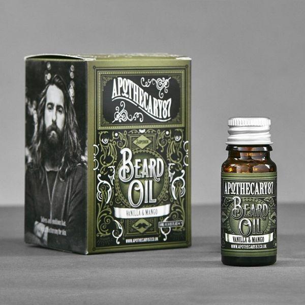 Apothecary87 Vanilla & Mango Beard Oil 10ml