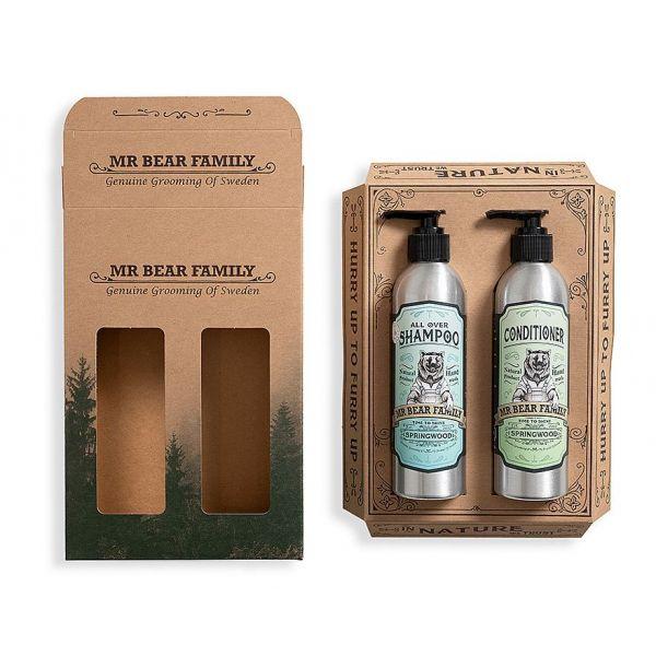 Mr. Bear Family Kit Shampoo & Conditioner Springwood