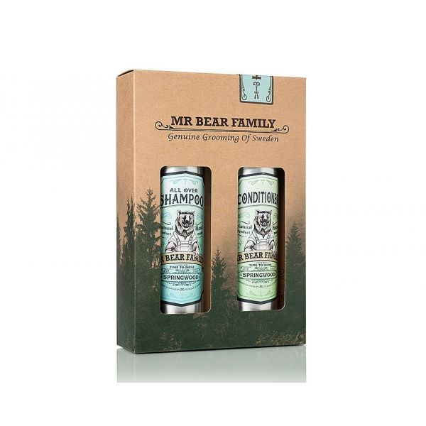 Mr. Bear Family Kit Shampoo & Conditioner Springwood