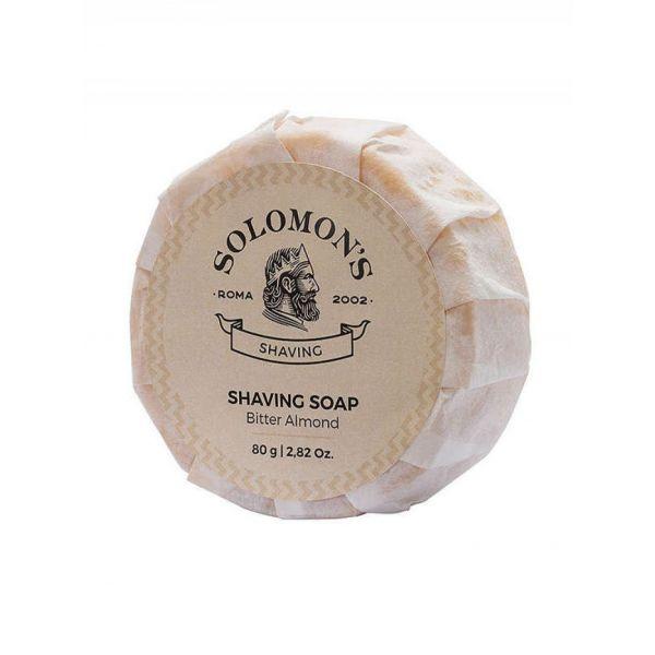 Solomon`s Bitter Almond Shaving Soap 80g