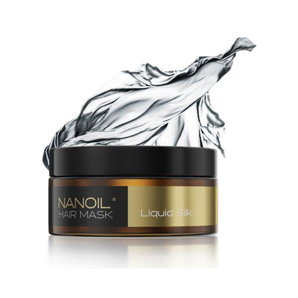 Nanoil Haarmaske mit flüssiger Seide 300ml