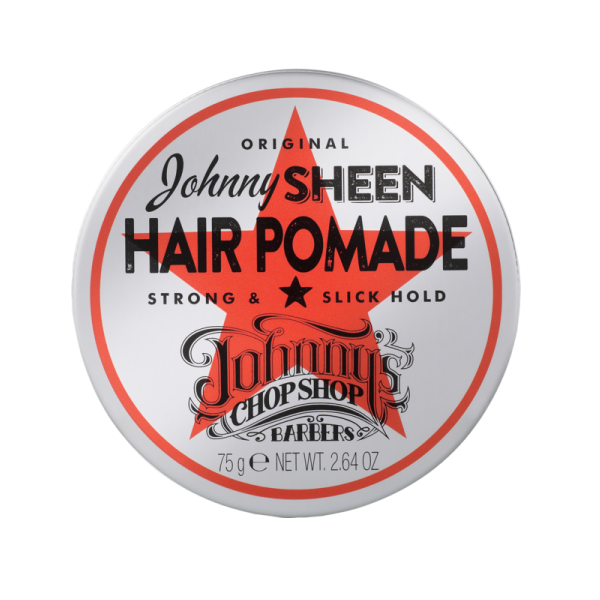 Johnny's Chop Shop Sheen Strong Hold Hair Pomade 75g