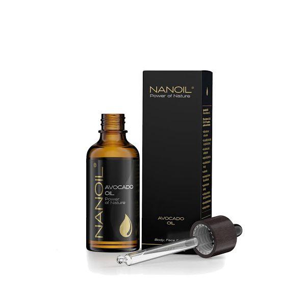 Nanoil Avocadoöl für Haar, Körper, Gesicht und Nägel 50ml